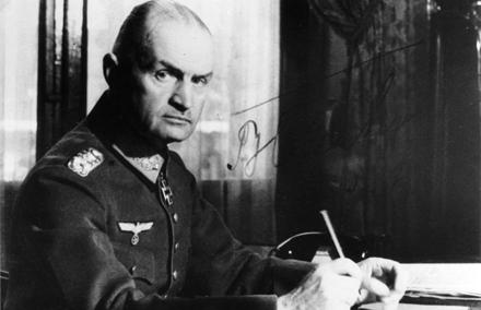 Generaal Blaskowitz.