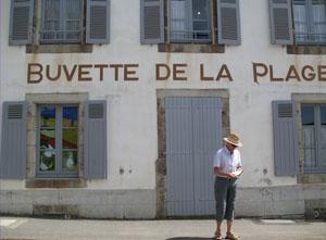 Buvette de la Plage in Le Pouldu