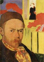 Zelfportret Meijer de Haan