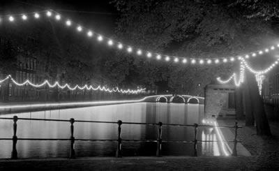 Lichtjespracht in Amsterdam, 1948.