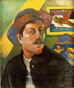 Zelfportret Paul Gauguin