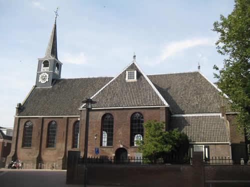De oude kerk van Oostzaan.