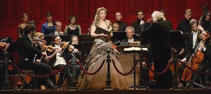 De Matthëus Passion in authentieke uitvoering.