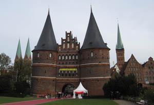 De Holstentor van Lübeck