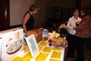 De tafel met prijzen