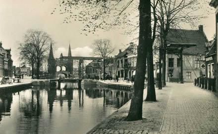 De beroemde Waterpoort van Sneek.