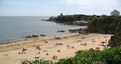 Strand van Le Pouldu