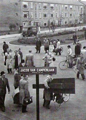 Jacon van Campenlaan, Hilversum